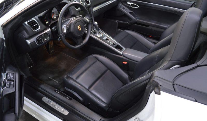 """Porsche Boxster S """"PDK"""" voll"""