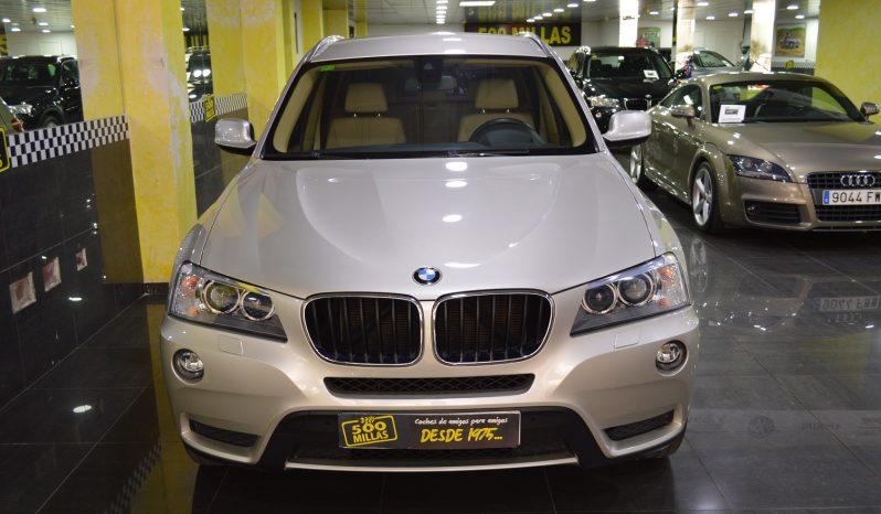 BMW X3 Xdrive 20d AUTO full