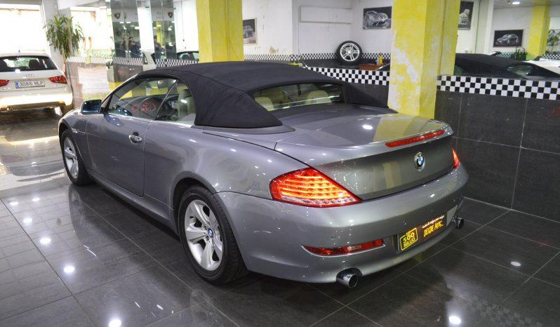 BMW 630 i Cabrio completo
