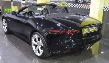Jaguar F-type Convertible V6 400cv completo
