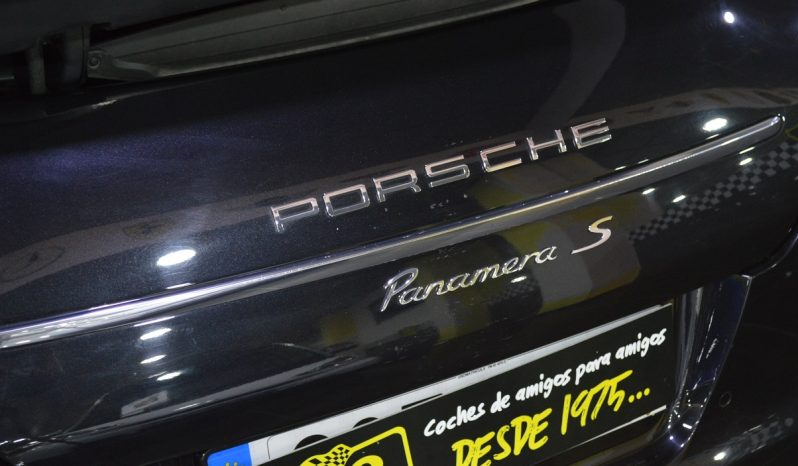 PORSCHE PANAMERA S completo
