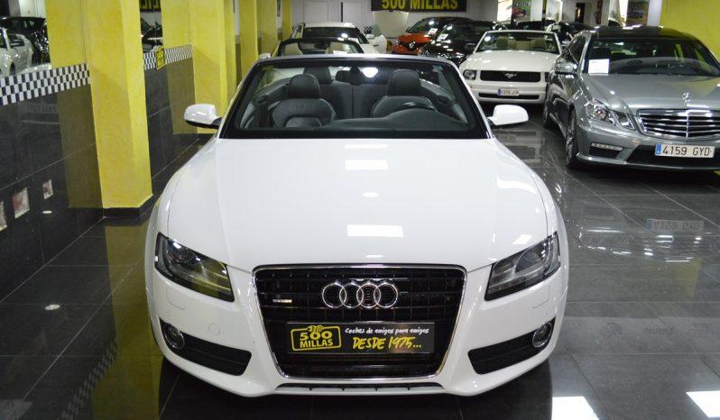 Audi A5 Cabrio 3.0tdi Quattro «S-line» completo