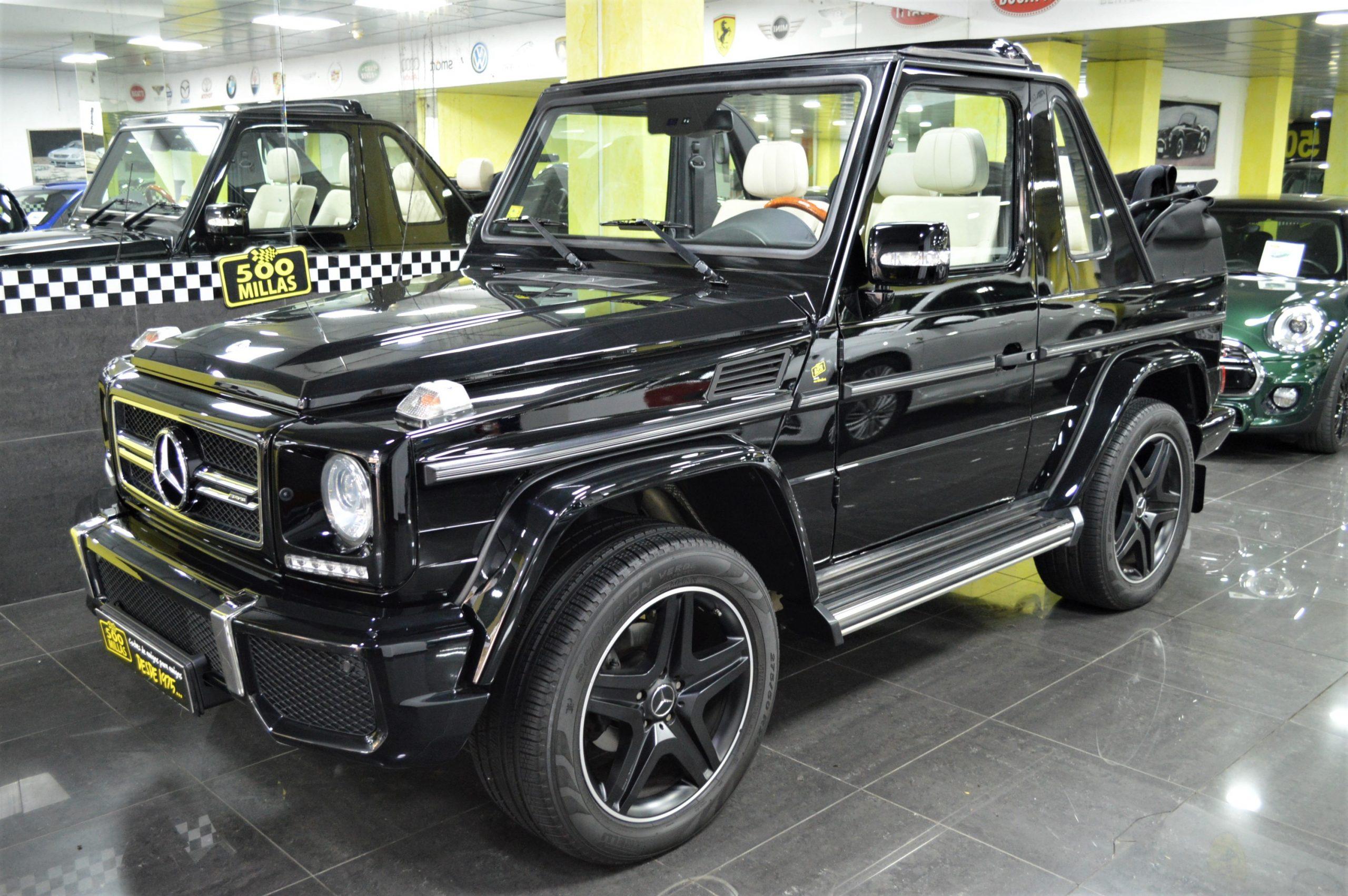 MERCEDES-BENZ G 500 CABRIO «AMG»