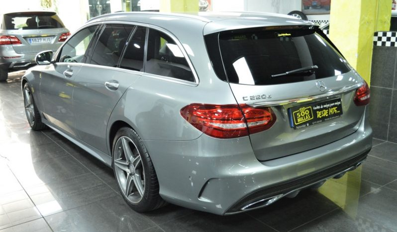 MERCEDES-BENZ C 220D -STATE – «AMG» completo